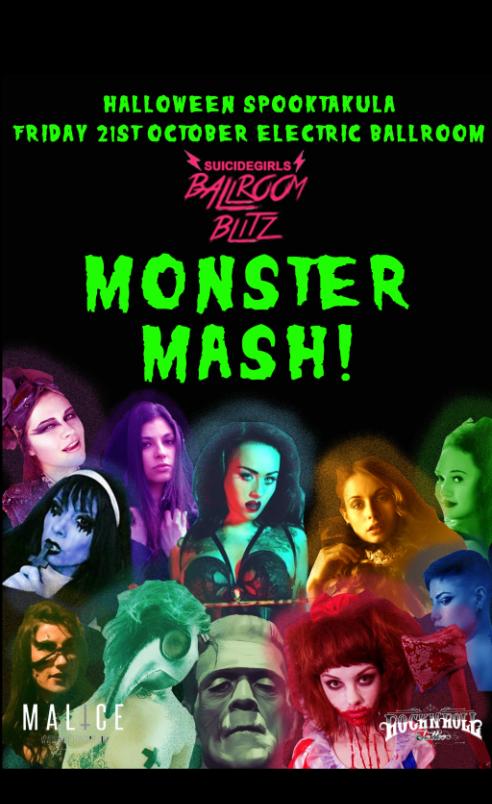 Suicide Girls Ballroom Blitz Monster Mash Halloween Spooktacula!
