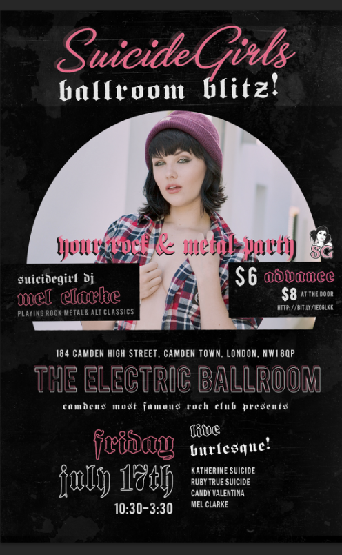 Suicide Girls: Ballroom Blitz! (Club Night)
