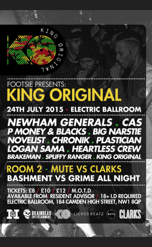 King Original: Newham Generals / Cas / Heartless Crew / P Money / Big Narstie & More