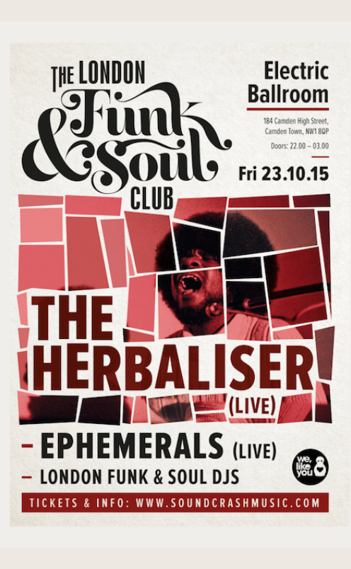 The London Funk and Soul Club feat The Herbaliser (Live)