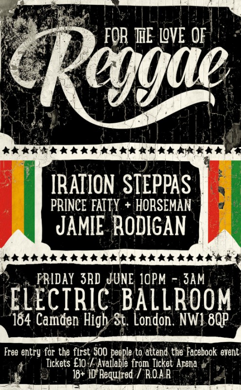 For The Love Of Reggae Feat. Iration Steppas and Prince Fatty