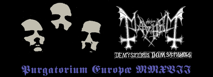 Mayhem – Playing 'De Mysteriis Dom Sathanas' in full