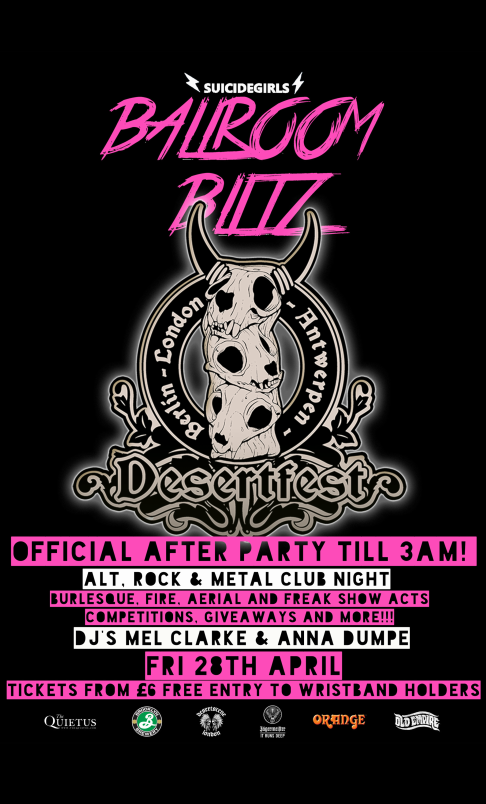 SG Ballroom Blitz Desertfest After Party