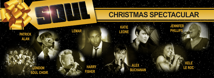 Soul Christmas Spectacular, featuring Lemar, in Aid of Cancer Research UK