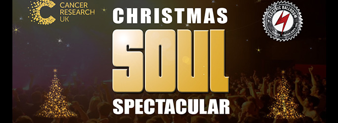 Soul Christmas Spectacular in aid of Cancer Research