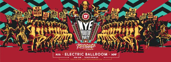 Propaganda London – NYE Prohibition Party!