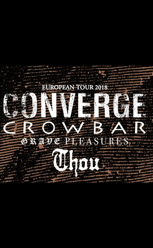 Converge and Crowbar (Co-Headline)