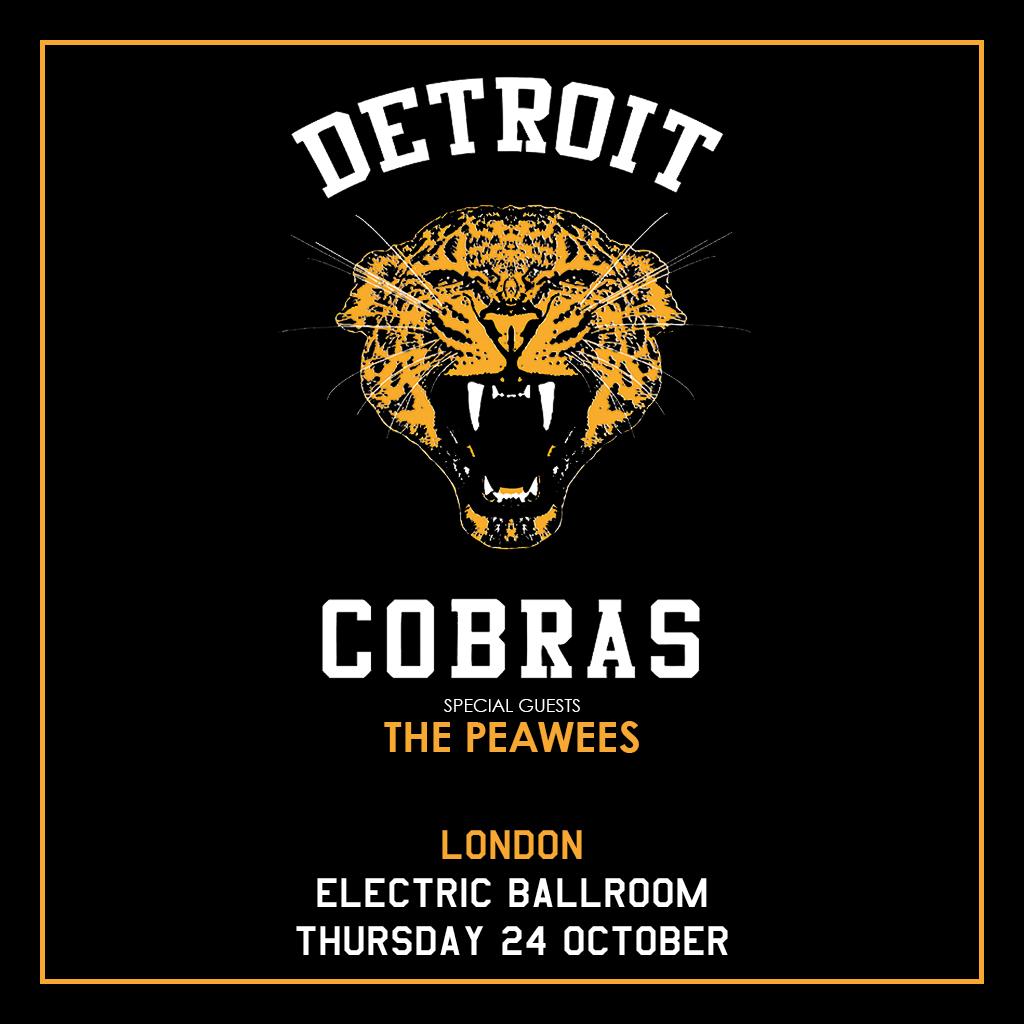 The Detroit Cobras Electric Ballroom Camden Iconic Music Venue
